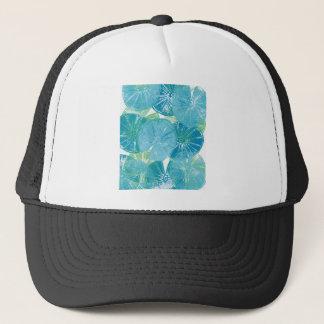 Lily Pad blues Trucker Hat