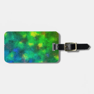 Lily Pad Green Luggage Tag