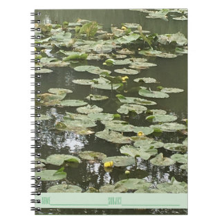 Lily Pad Notebook - Lily Pad Pond Journal
