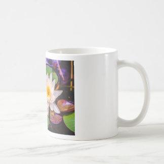 Lily pad on the water coffee mug