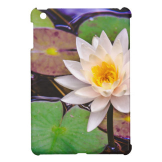Lily pad on the water iPad mini covers