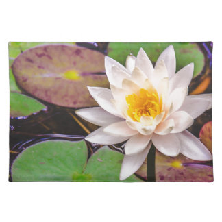 Lily pad on the water placemat