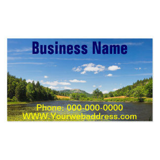 Lily Pads on Long Pond Acadia National Park Business Cards