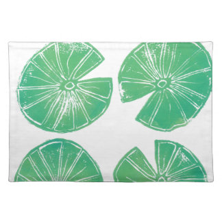 Lily pads placemat