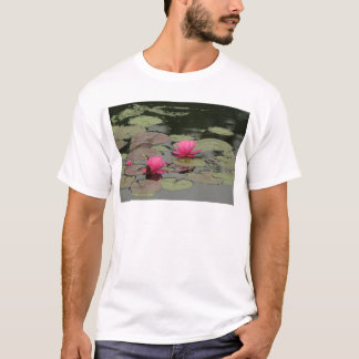 Lily Pads With Pink Flowers T-Shirt