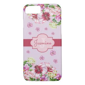 Lily & Peony Purple iPhone 8/7 Case