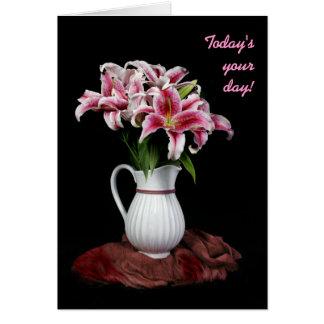 Lily Pitcher Birthday Card