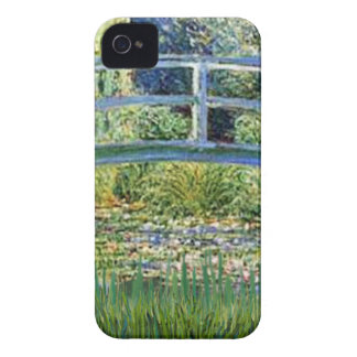 Lily Pond Bridge - insert your pet Case-Mate iPhone 4 Cases