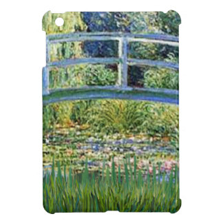 Lily Pond Bridge - insert your pet Cover For The iPad Mini