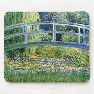 Lily Pond Bridge - insert your pet Mouse Pad