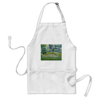 Lily Pond Bridge - insert your pet Standard Apron