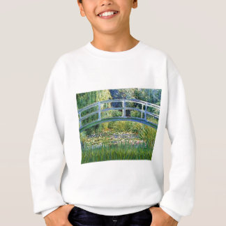 Lily Pond Bridge - insert your pet Sweatshirt