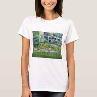 Lily Pond Bridge - insert your pet T-Shirt