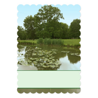 Lily Pond Invitation - Lily Pads at the Park