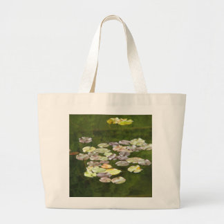 Lily Pond Large Tote Bag
