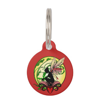 Lily Shadow Fairy Pet ID Tag
