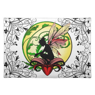Lily Shadow Fairy Placemat