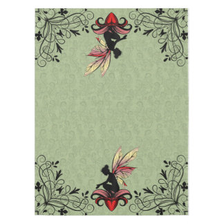 Lily Shadow Fairy Tablecloth