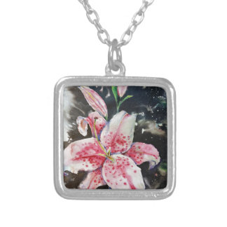 LIly Silver Plated Necklace
