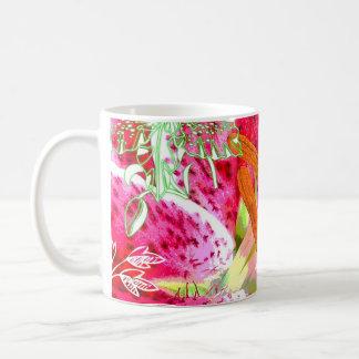 Lily Stargazer Fantasy, Mug