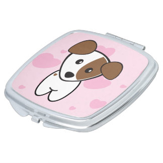 Lily the Terrier Compact Mirrors