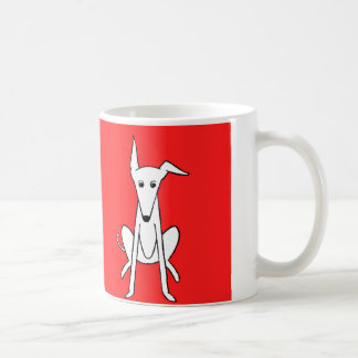 Lily The Whippet Graphic Mug