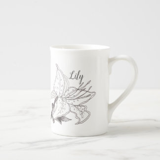 lily to customize or personalize tea cup