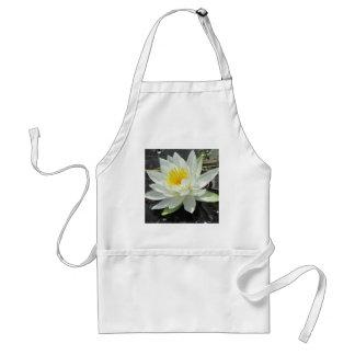 Lilypad bloom apron