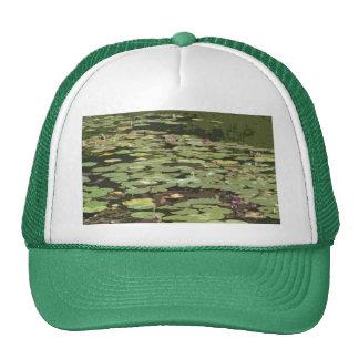 Lilypads Impressionism art Hat