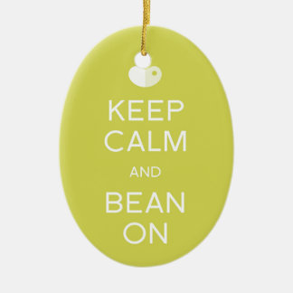 "LIMA Bean ""Keep Calm"" Ornament"