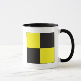 Lima (L) Signal Flag Mug