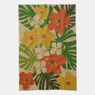 Limahuli Garden Hawaiian Floral Kitchen Towel