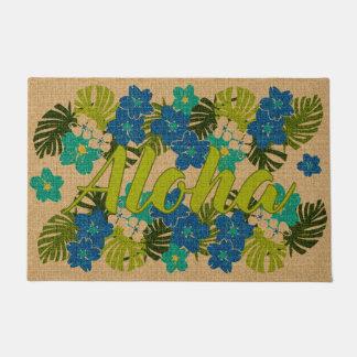 Limahuli Garden Vintage Hawaiian Lime Aloha Doormat
