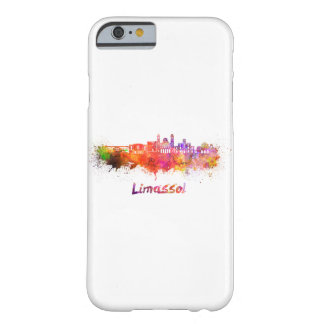 Limassol skyline in watercolor barely there iPhone 6 case