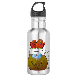 LimbBirds Water Bottle (18 oz), Stainless Steel