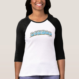 LimbBirds Womens Raglan 3/4 Sleeve T-Shirt