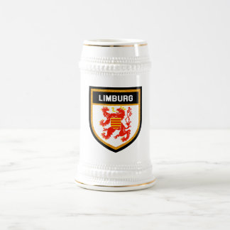 Limburg Flag Beer Stein