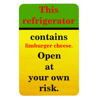 Limburger Cheese Magnet