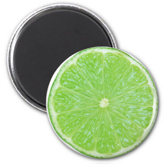 Lime 2 Inch Round Magnet