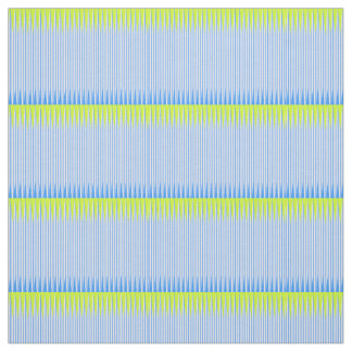 Lime and Blue Color Weave Fabric