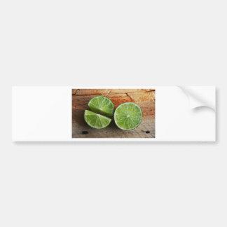 lime bumper sticker