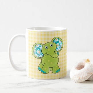 Lime Buttercup Meadows Jazzy Baby Collection Coffee Mug