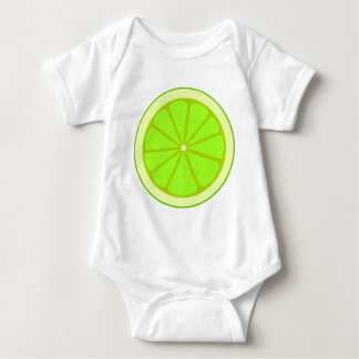 Lime Drawing Baby Bodysuit