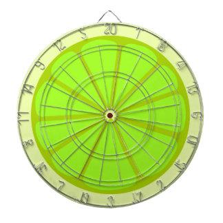 Lime Drawing Dartboard