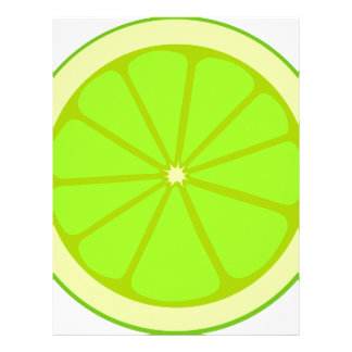 Lime Drawing Letterhead