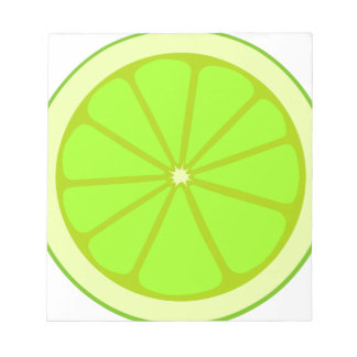 Lime Drawing Notepad