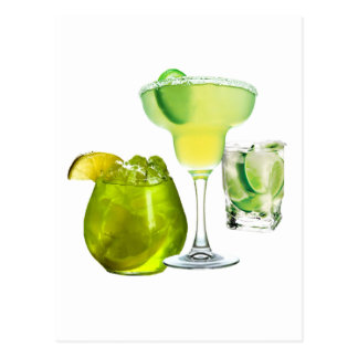 Lime Drinks Postcard
