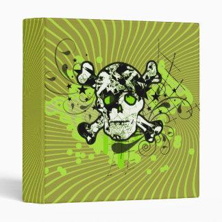 Lime Embellished Skull Binders