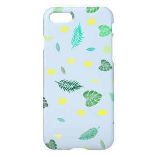 Lime Fruit and Leaves iPhone 8/7 Case