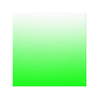 Lime Gradient Canvas Print